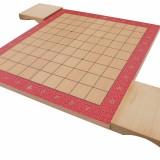 Dřevěná šachovnice na shogi