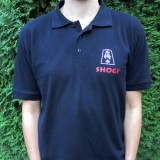 polo black front