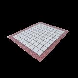 Plastová šachovnice standard
