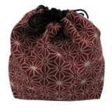 Pouch for shogi pieces - Red Star