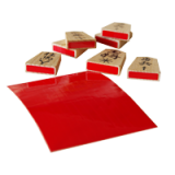 Self-adhesive Red Labels