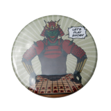 Shogi badge - Samurai